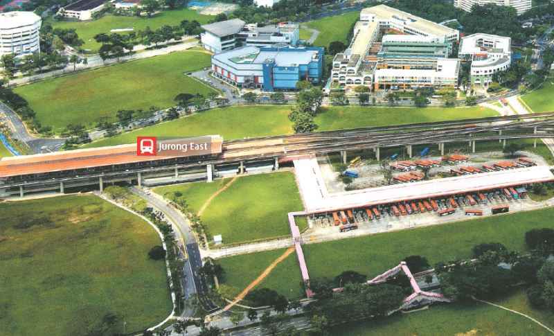 Jurong East in early 2000