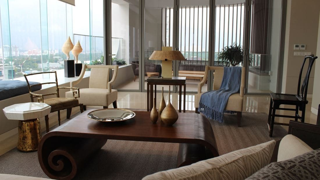 Ardmore Residence Living Area 1