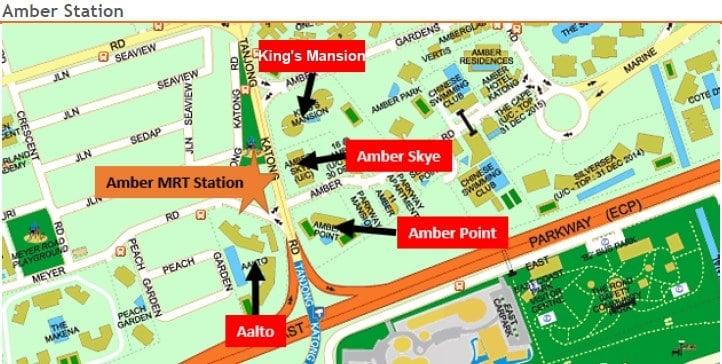 Amber MRT Station