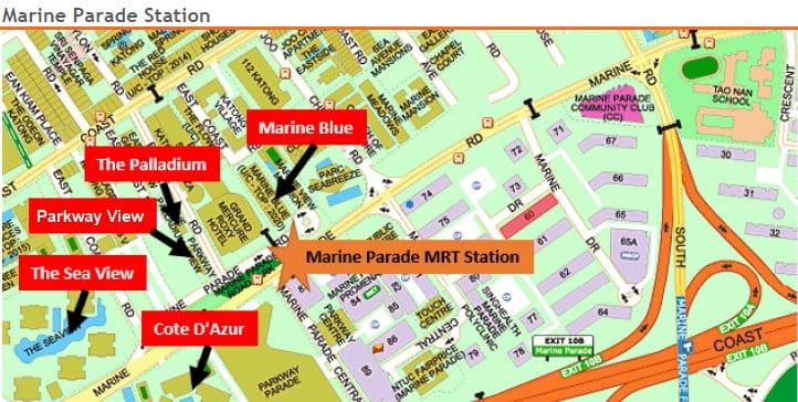 Marine Parade MRT Station