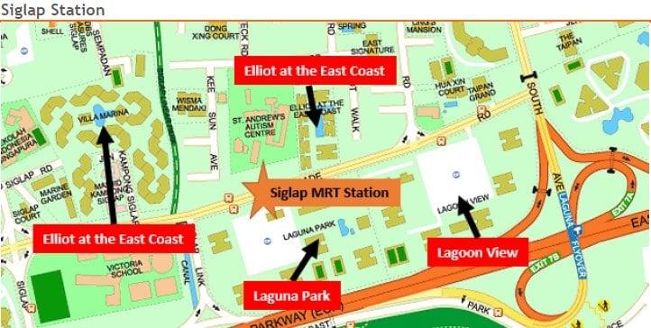 Siglap MRT Station