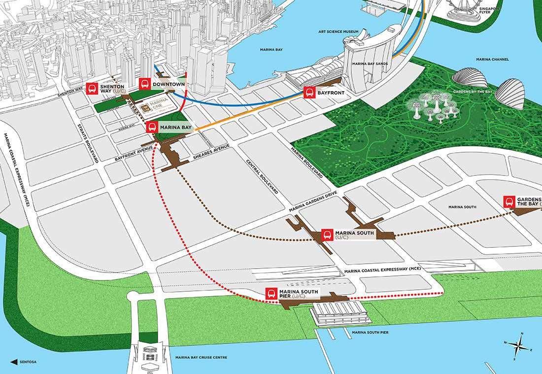 Marina One - Marina Bay epicenter