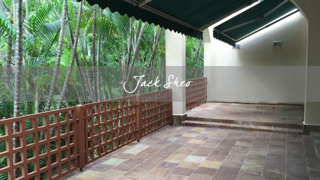 Villa Madeleine - patio