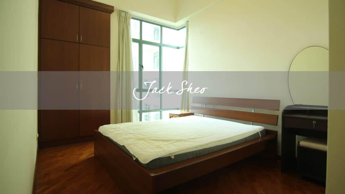 Tanglin Regency - master bedroom