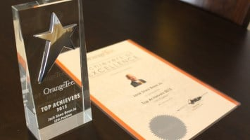 OrangeTee overall TOP 15 Achiever for 2015
