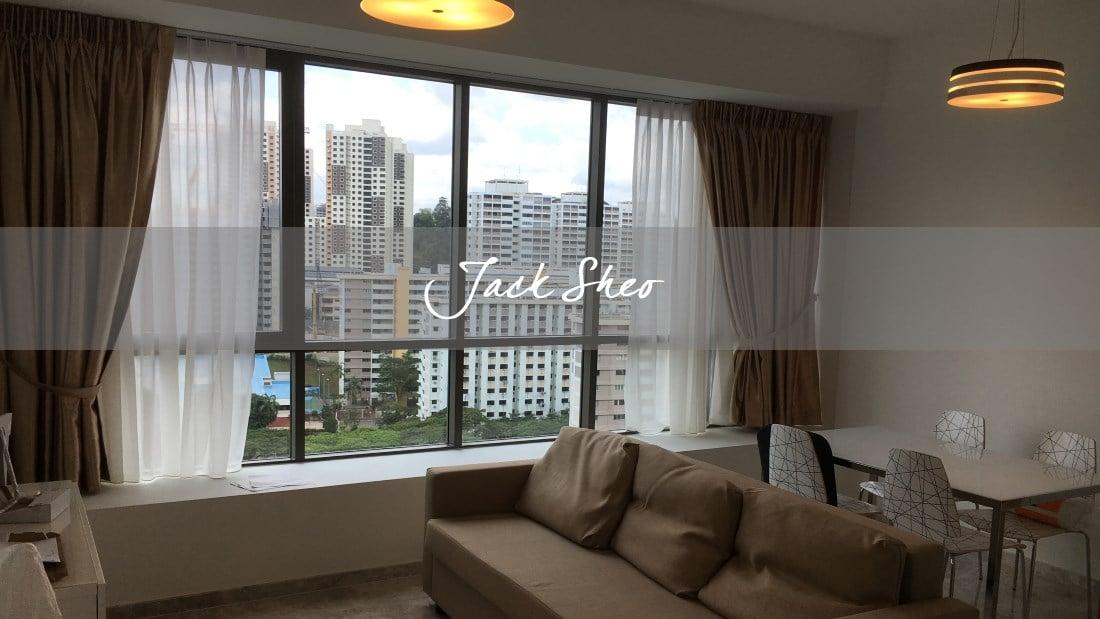 Skyline Residences - living room