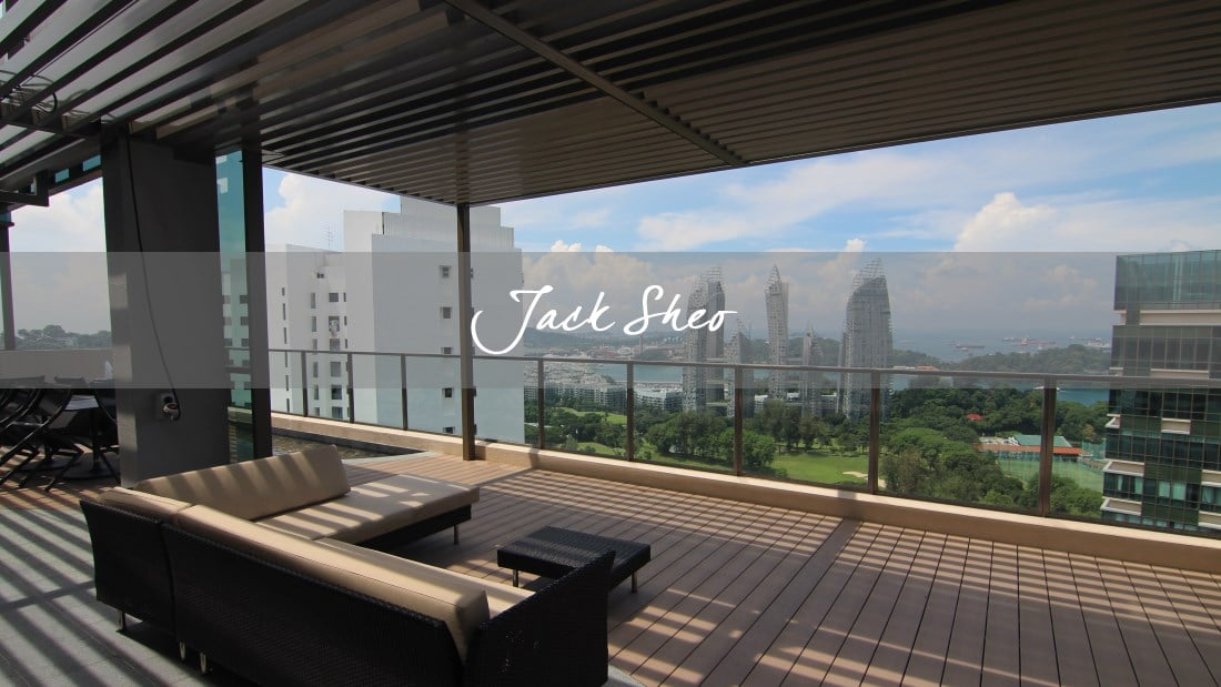 Skyline Residences - terrace view