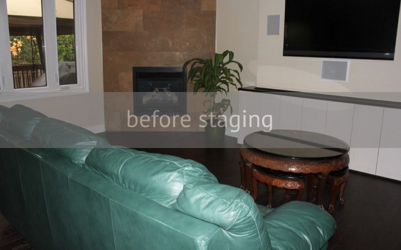 Singapore home staging - before
