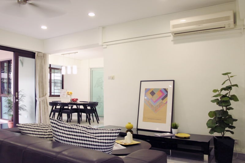 Home staging work done for Bedok Court