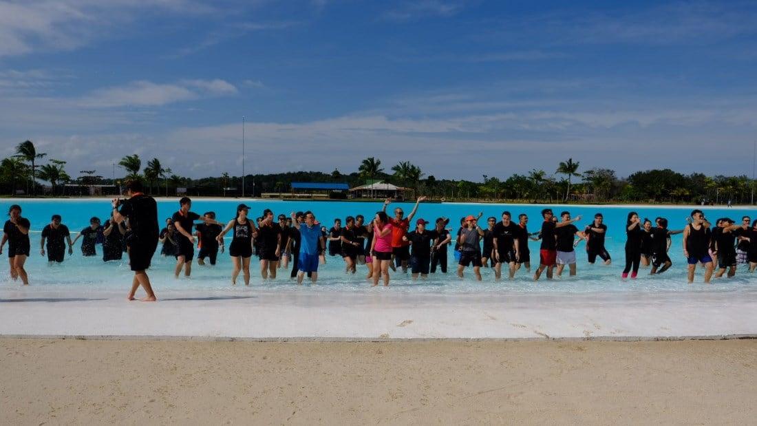 OrangeTee Leadership In-Action-Camp splash game
