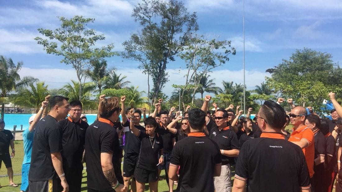 OrangeTee Leadership In-Action-Camp game briefing