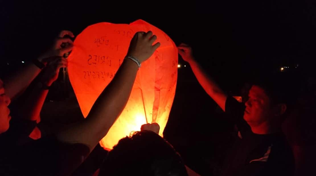 OrangeTee Leadership In-Action Camp - lantern