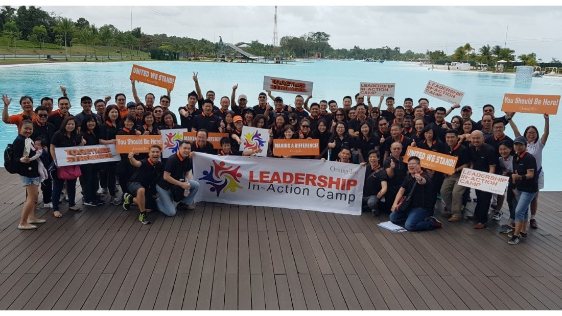 OrangeTee Leadership In-Action Camp - group photo