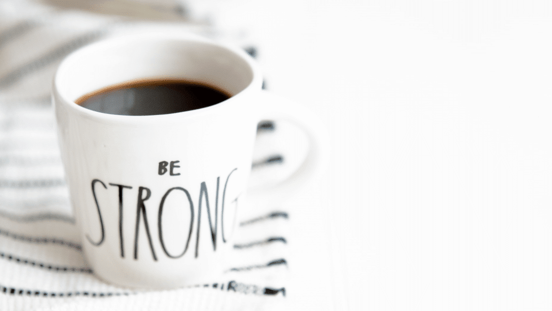 blog - be strong