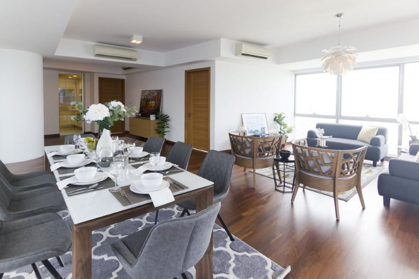 Singapore Home Staging - LIVING DINING