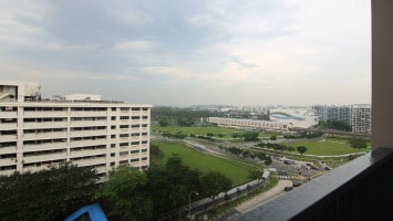 Singapore Property - Coco Palms for sale - balcony view