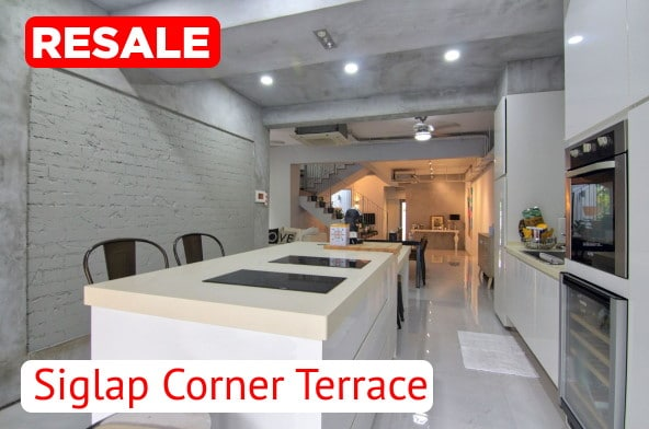 Siglap Corner Terrace For Sale