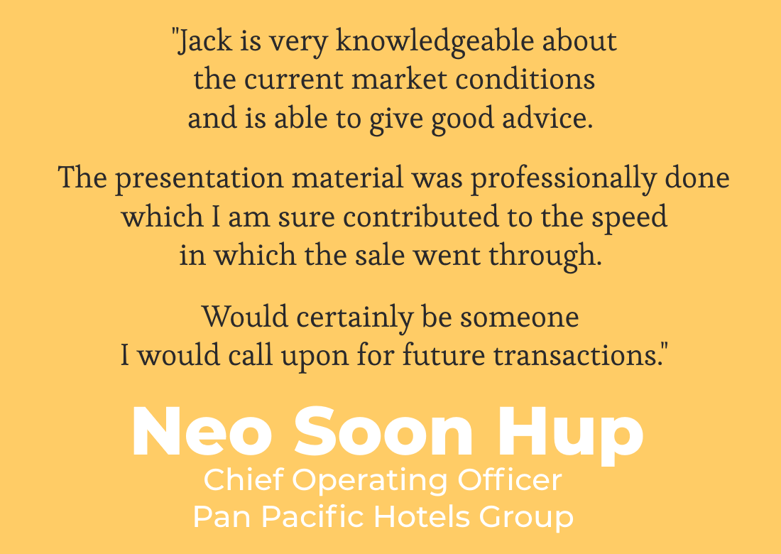 Singapore Property Agent Jack Sheo - Testimonial & Review 2020 - Neo Soon Hup