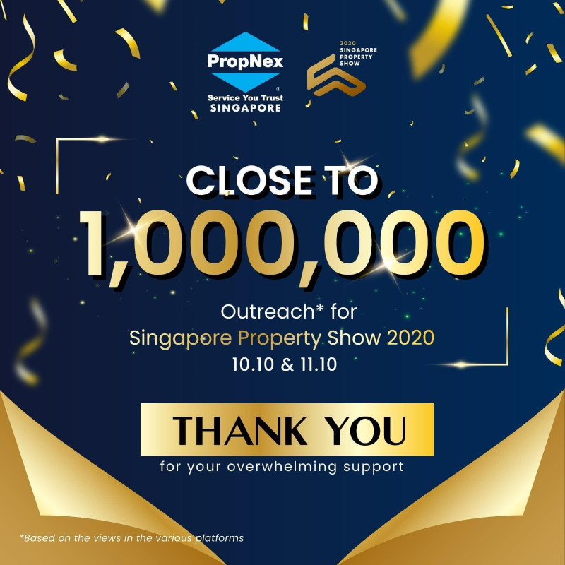 Singapore property show 2020 outreach