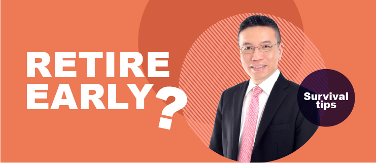 singapore property show 2020 - day 1 - 05 - retire early with survival tips on financial